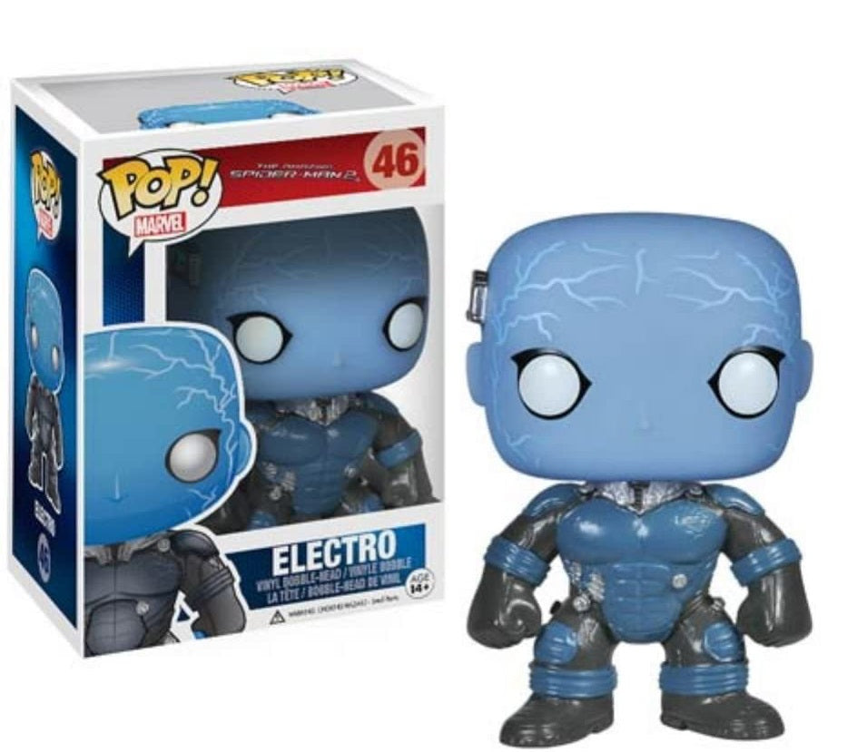 Funko Pop Amazing Spiderman Electro Glow in the Dark