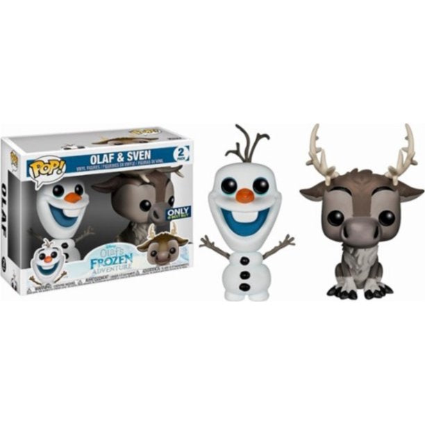 Funko Pop Disney's Frozen 2-Pack Olaf & Sven Best Buy Exclusive