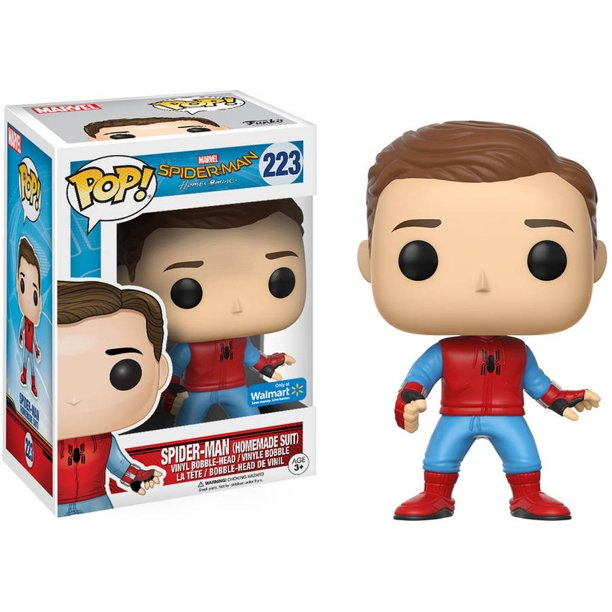 Funko Pop Spider-Man Homemade Suit Wal-mart Exclusive