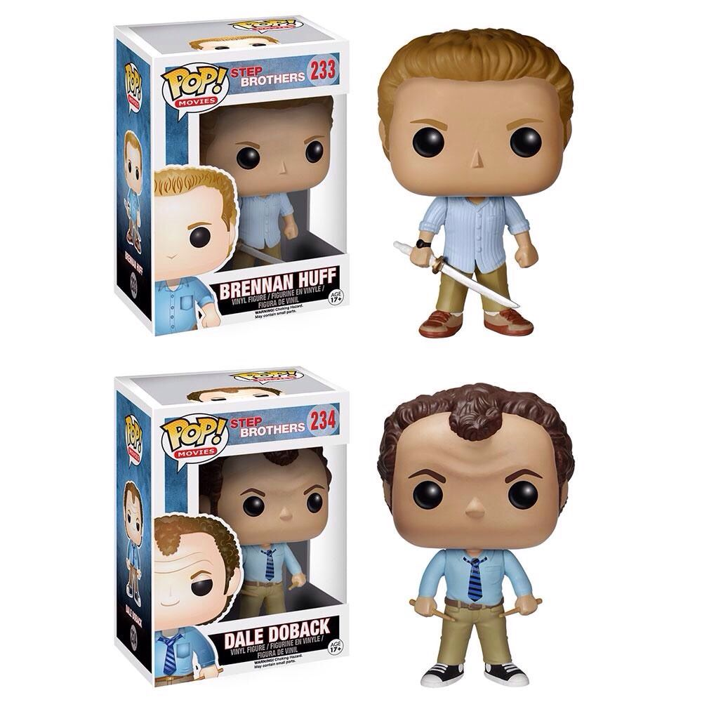 Funko Pop Step Brothers Set of 2