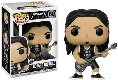 Funko Pop! Rocks: Metallica - Robert Trujillo Collectible Figure