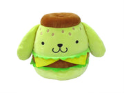 "Squishmallow 12"" Super Soft Mochi Squishy Plush Toy - Hello Kitty Burger Pom Pom Purin"