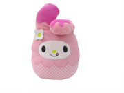 "Squishmallow 12"" Super Soft Mochi Squishy Plush Toy - Hello Kitty My Melody Pink Ice Cream"