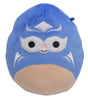 "Squishmallow 7"" Martin the Blue Masked Luchador ""Lucha Libre"" - Super Soft Mochi Squishy Plush Toy - TOYDROPS Mexico Exclusive"