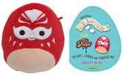 "Squishmallow 7"" Julian the Red Masked Luchador ""Lucha Libre"" - Super Soft Mochi Squishy Plush Toy - TOYDROPS Mexico Exclusive"