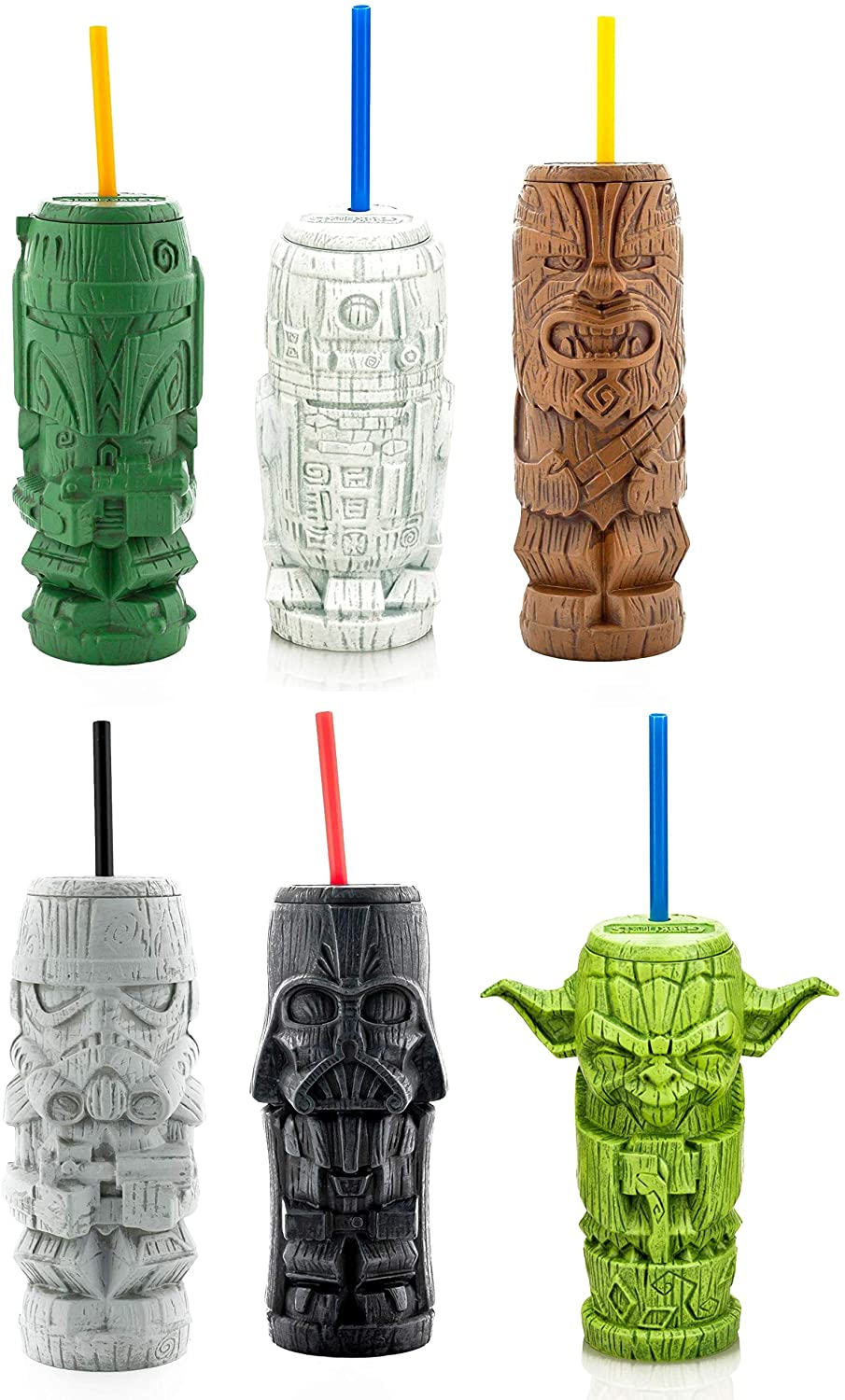 Geeki Tikis Exclusive Star Wars Plastic Tumbers Set of 6