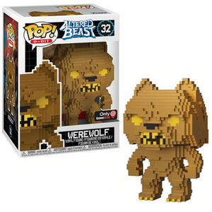 Funko Pop 8 Bit: Altered Beasts - Greek Warrior (Werewolf) Collectible Figure with Gamestop Exclusive Sticker