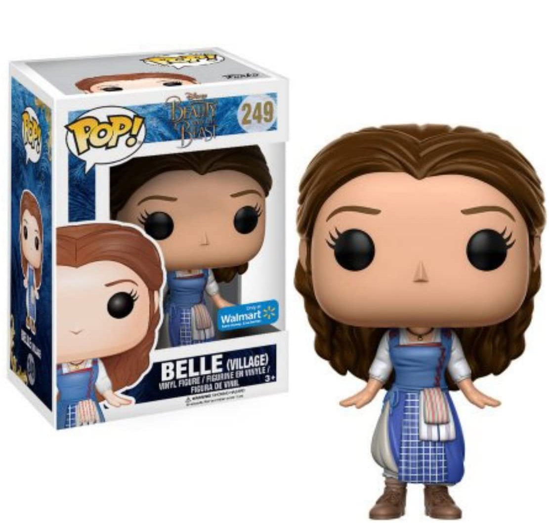Funko Pop Beauty and the Beast Belle Wal-mart Exclusive