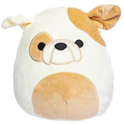 Squishmallow Kellytoy 12 Inch Brock The Bulldog - Super Soft Plush Toy Animal