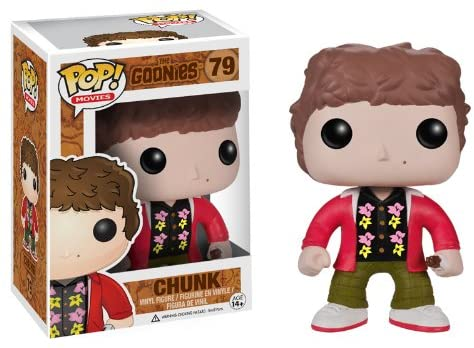 "Funko Pop Goonies Chunk - ""NOT IN MINT CONDITION"" PACKAGE HAS SOME WEAR - NO RETURNS ALLOWED"