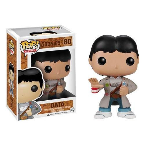 "Funko POP Movies: Goonies Data Action Figure - ""NOT IN MINT CONDITION"" PACKAGE HAS SOME WEAR - NO RETURNS ALLOWED"