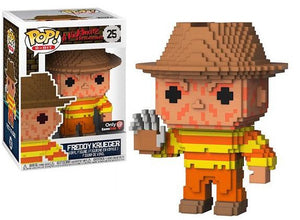 funko Pop A Nightmare On Elm Street Freddy Krueger 8-Bit Gamestop Exclusive