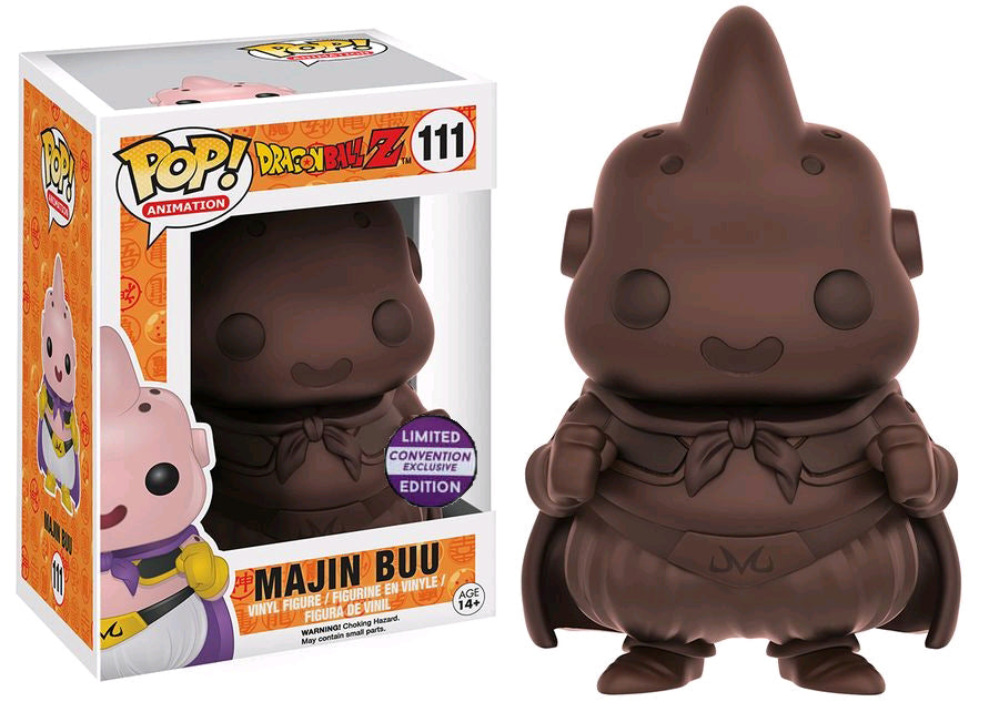 "Funko Pop Dragon Ball Z ""Chocolate"" Majin Buu Convention Exclusive"