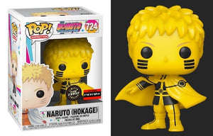 "Funko Pop Boruto Naruto Hokage ""Glow in the Dark CHASE"" AAA Exclusive"