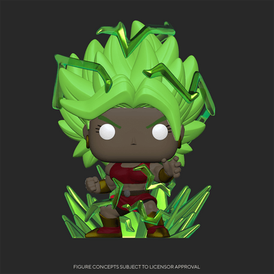 Funko Pop Dragon Ball Super - Super Saiyan Kale Glow in the Dark