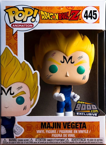 Funko Pop Dragon Ball Z Majin Vegeta Over9000.com Exclusive