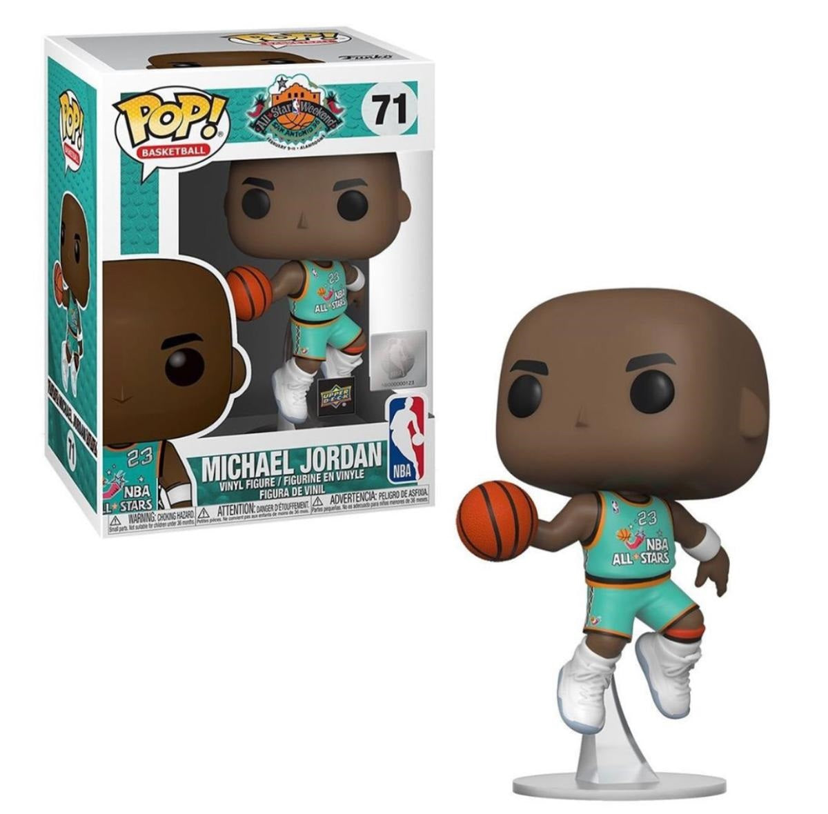Michael Jordan All Star Jersey Upper Deck Funko Pop - Convention Exclusive