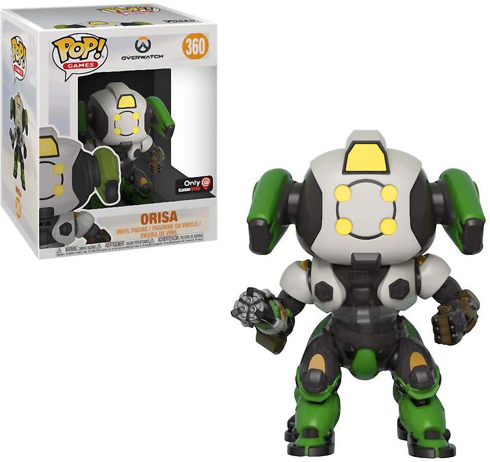 "Funko Pop Overwatch 6"" Super-Sized Orisa Gamestop Exclusive"