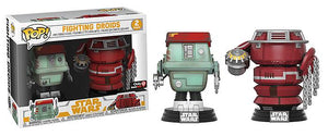 Funko Pop Star Wars 2-Pack Fighting Droids Gamestop Exclusive