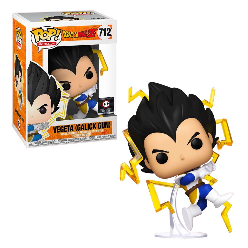 Funko Pop Dragon Ball Z Vegeta Galick Gun Exclusive