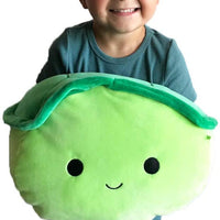 "SQUISHMALLOWS 12"" Super Soft Mochi Squishy Plush Toy - Henry The Turtle Plushie"
