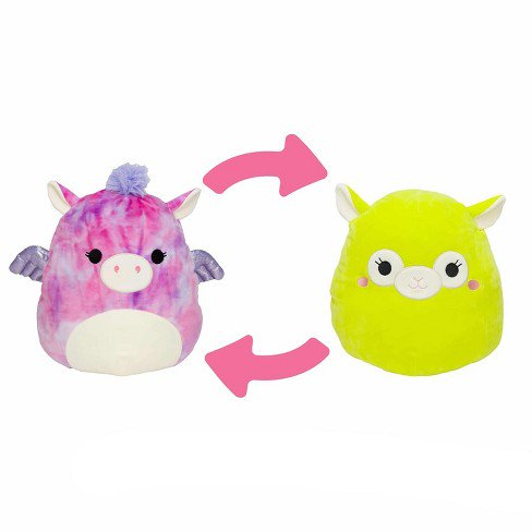 "Squishmallow 2020 Flip-A-Mallows Mini 5"" Plush Toy (5"" Willow The Pegasus Flipped into Kimberly The Llama)"