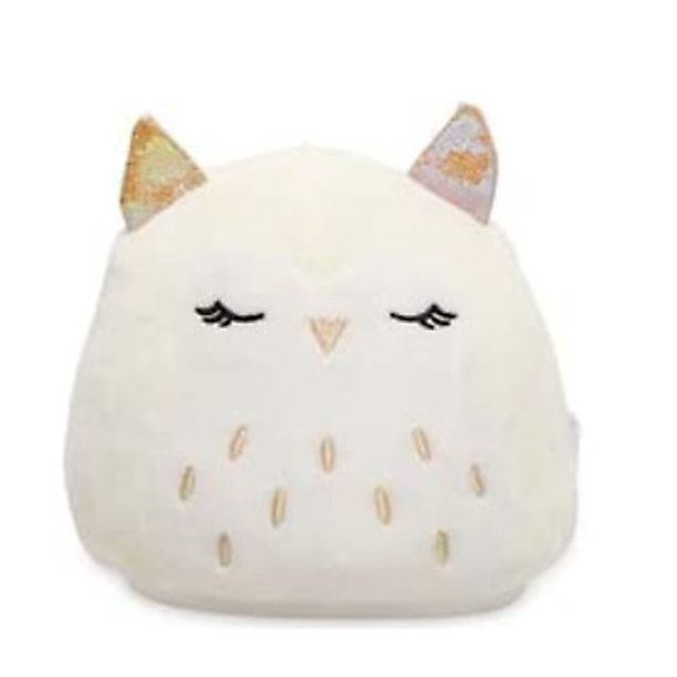 "SQUISHMALLOWS Kellytoy 2020 Flip-A-Mallows #2 Plush Toy (5"" Alyssa The Chick & Lilian The Owl)"