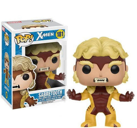Funko Pop Marvel X-Men Sabertooth