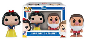 Funko Pop Disney's Snow White & Grumpy Mini Set