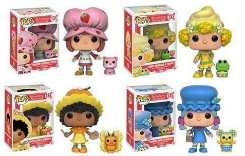 Funko Pop Strawberry Shortcake Set of all 4