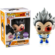 Funko Pop Dragon Ball Z Metallic Vegeta Convention Exclusive