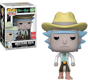 Funko Pop Rick and Morty Western Rick 2018 Summer Convention Exclusive