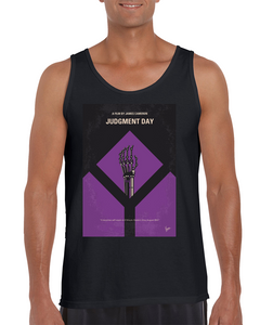 purchase cheap 9ff94 3527c Terminator 2 Judgment Day Minimal Movie Tank Top