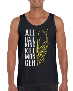 bf1a8d52d55 All Hail King Killmonger - Black Panther Tank Top