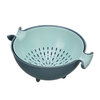 Rotatable Colander Strainer Bowl