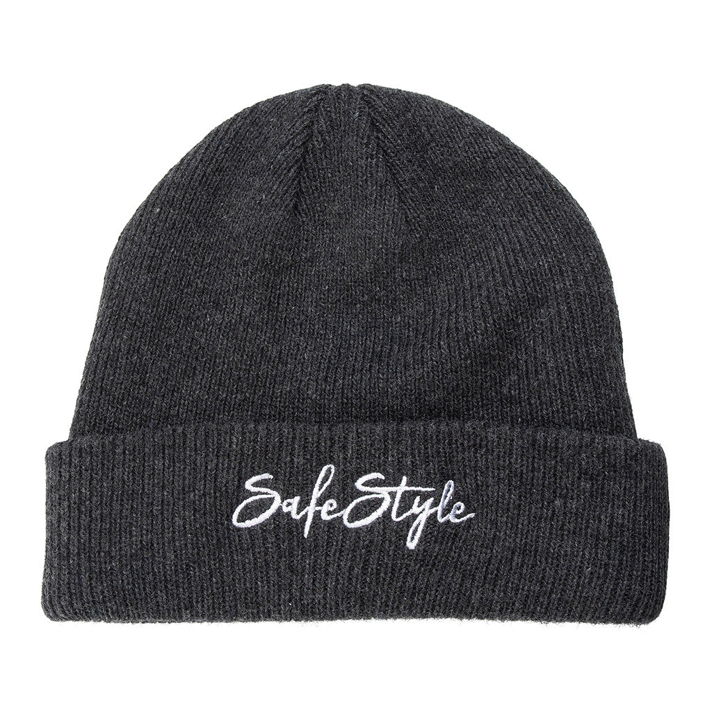 SafeStyle Beanie - Charcoal