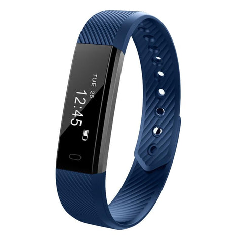 Very Fit Plus Fitness Tracker Smart Watches Smaart Cell Dark Blue