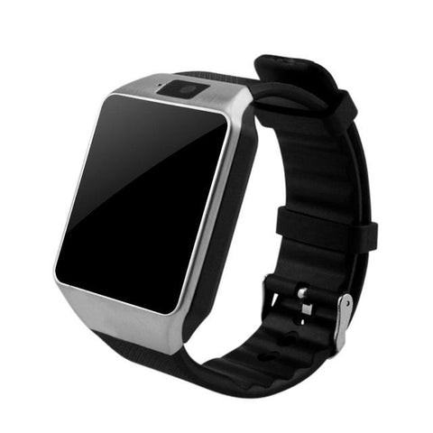 DZ09 Bluetooth Smart Watch Smart Watches Smart Cell Sliver