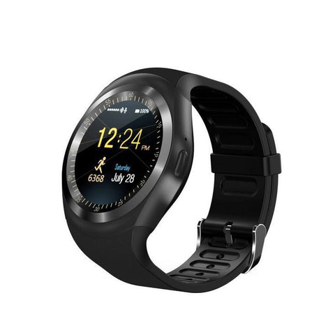 Waterproof Smartwatch Smart-Gadget black