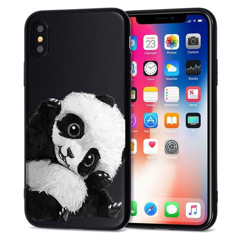 Black Panda iPhone Case iPhone Case Smart-Gadget 01 for iPhone 5 5S SE
