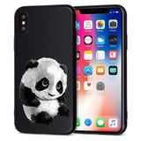 Black Panda iPhone Case iPhone Case Smart-Gadget 02 for iPhone 5 5S SE