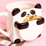 Panda Mug with Biscuit Section mug Smart-Gadget