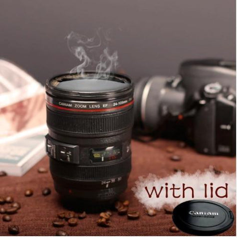Camera Lens Mug Smart-Gadget version 2 Black