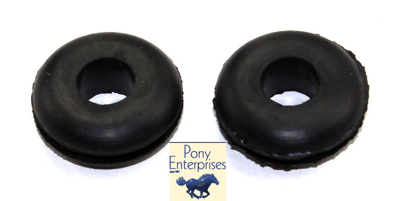 1965 1966 1967 1968 Mustang Front Brake Line Grommets Pair - Pony Enterprises