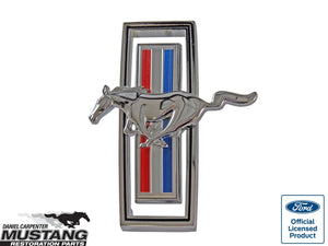 1970 Mustang Grill Horse Emblem Assembly - Daniel Carpenter