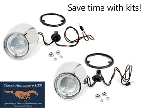 1965 1966 Mustang Backup Light Deluxe Kit