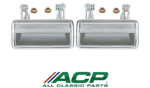 1971 1972 1973 Mustang Outside Door Handles Pair - ACP