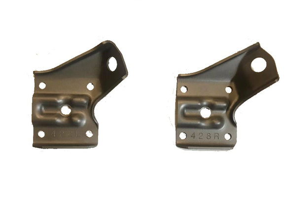 1969-1970 Mustang Boss 302 428 CJ Rear Leaf Spring Brackets Pair