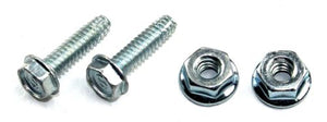 1965-1966 Mustang Dash Pad Screws & Nuts - Pony Enterprises