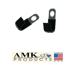 1965 1966 1967 1968 1969 1970 1971 1972 1973 Mustang Underhood & Valve Cover Wire Harness Clips Pair - AMK